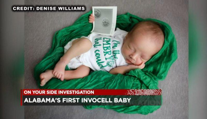 Alabama's First INVOcell Baby